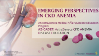 Emerging Perspectives in Anemia of CKD icon