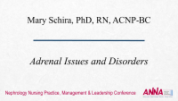 Adrenal Issues and Disorders