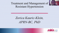 Treatment and Management of Complex Hypertension
