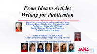 From Idea to Article - Writing Workshop