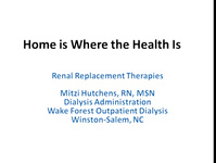 Home Is Where the Health Is: Improving Our Knowledge and Skills in Home Modalities icon