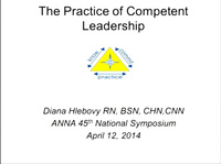 The Practice of Competent Leadership