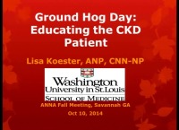 The RN as Educator: Ground Hog Day: Educating the CKD Patient icon