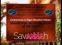 Should Kids Go to the Front of the Line: Controversies in Transplant