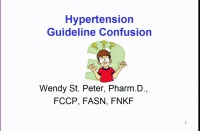Hypertension: Guideline Confusion