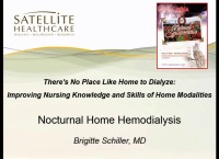 There's No Place Like Home to Dialyze: Improving Nursing Knowledge and Skills of Home Modalities - Nocturnal Hemodialysis icon