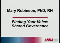 Finding Your Voice: Shared Governance
