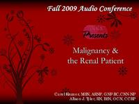 Fall 2009 - Malignancy and the Renal Patient icon