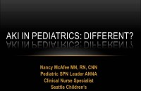 Acute Kidney Injury: Incidence, Frequent Causes and Management - The Pediatric AKI Patient