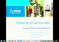 Administration ~ Independence Day Revisited: Engaging Patients in Self-Management