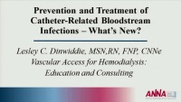 Prevention and Treatment of Catheter-Related Bloodstream Infection: What's New?