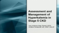 Assessment and Management of Hyperkalemia in Stage 5 CKD