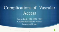 Complications of Vascular Access