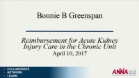 Acute Kidney Injury in the Chronic Unit