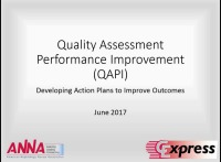 Quality Assessment Performance Improvement (QAPI) - Developing Action Plans to Improve Outcomes icon