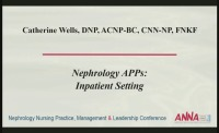 Tri-Level Practice of the Nephrology APRN: Acute Care Setting icon