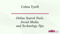 Online Search Tools, Social Media, and Technology Tips