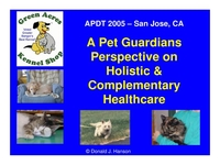 A Pet Guardian's Perspective on Holistic and Complimentary Healthcare icon