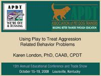 Using Play to Treat Aggression Related Behavior Problems icon