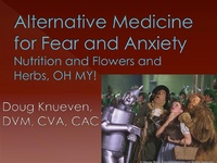 Alternative Medicine for Fear and Anxiety: Nutrition and Flowers and Herbs, Oh My! icon