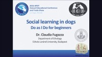 Social Learning in Dogs: Do as I Do for Beginners icon