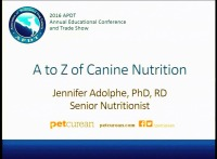 A to Z of Canine Nutrition icon