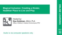 Magical Inclusion: Creating a Kinder, Healthier Place to Live and Play - 1.0 PDH (LA CES/HSW) icon