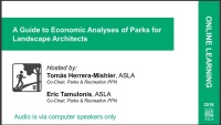 A Guide to Economic Analyses of Parks for Landscape Architects - 1.0 PDH (LA CES/HSW) icon