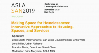 Making Space for Homelessness: Innovative Approaches to Housing, Spaces, and Services - 1.25 PDH (LA CES/HSW)