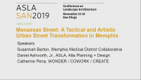 Manassas Street, A Tactical and Artistic Urban Street Transformation in Memphis - 1.5 PDH (LA CES/HSW)