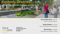 Kennedy Greened: A Streetscape Planned, Designed, and Now Built! - 1.5 PDH (LA CES/HSW)