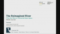 The ReImagined River: Fifty-One Miles of Connected Open Space - 1.5 PDH (LA CES/HSW)
