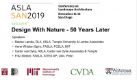 Design with Nature - Fifty Years Later - 1.25 PDH (LA CES/HSW)