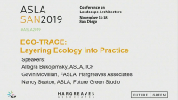 Ecotrace: Layering Ecology Into Practice - 1.0 PDH (LA CES/HSW)