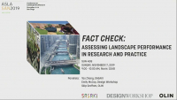Fact Check: Assessing Landscape Performance in Research and Practice - 1.0 PDH (LA CES/HSW)