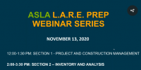 Virtual LARE Prep Workshop: Section 2 – Inventory & Analysis icon