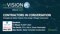 Contractors in Conversation - Strategies for Better Projects from Design Through Construction - 1.0 PDH (LA CES/HSW)