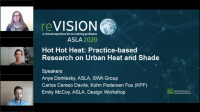Hot Hot Heat: Practice-based Research on Urban Heat and Shade - 1.0 PDH (LA CES/HSW)