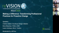 Making a Difference: Transforming Professional Practices for Proactive Change - 1.0 PDH (LA CES/HSW)