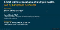 Smart Climate Solutions at Multiple Scales, Led by Landscape Architects - 1.0 PDH (LA CES/HSW) icon