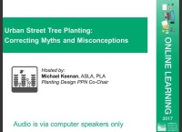 Urban Street Tree Planting: Correcting Myths and Misconceptions - 1.0 PDH (LA CES/HSW) icon