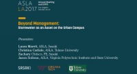 Beyond Management: Stormwater as an Asset on the Urban Campus - 1.5 PDH (LA CES/HSW)