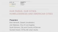 Homelessness and American Parks and Public Spaces - 1.5 PDH (LA CES/HSW)