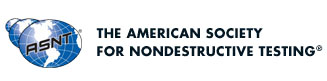 The American Society for Nondestructive Testing Logo