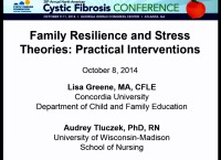 SC04: NRS-SW/PSYCH: Family Resilience & Stress Theories-Practical Interventions