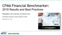 CFMA's 2019 Financial Benchmarker Results Revealed icon