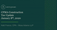 2020 Construction Tax Update icon