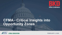 Critical Insights into Opportunity Zones icon