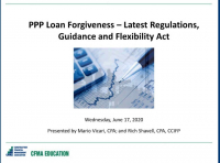 PPP Loan Forgiveness – Latest Regulations, Guidance and Flexibility Act icon