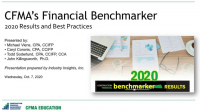 CFMA'S 2020 Financial Benchmarker Results Revealed icon